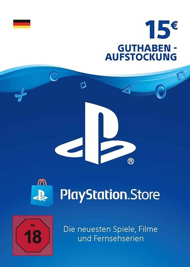 Playstation Network Card 15 EUR (DE) PSN Key GERMANY