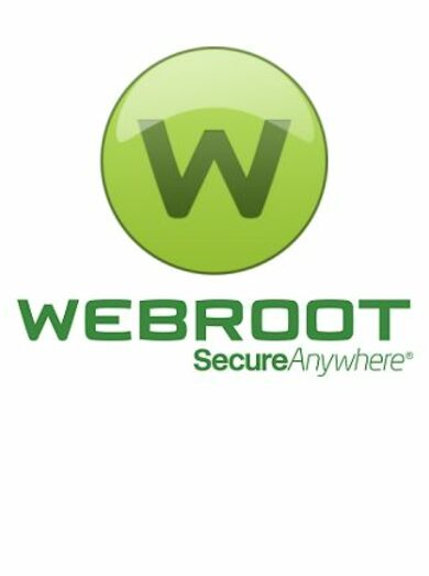 Webroot SecureAnywhere AntiVirus 1 Device 1 Year Key GLOBAL