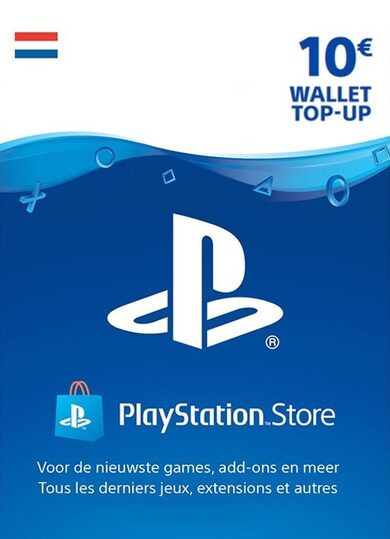 PlayStation Network Card 10 EUR (NL) PSN Key NETHERLANDS