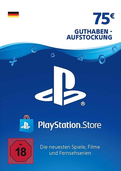 PlayStation Network Card 75 EUR (DE) PSN Key GERMANY