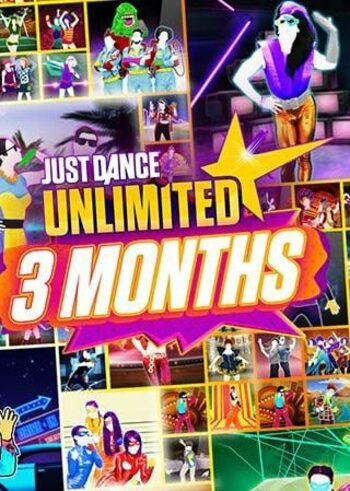 Just Dance Unlimited 3 Months Subscription (Nintendo Switch) Nintendo Key UNITED STATES
