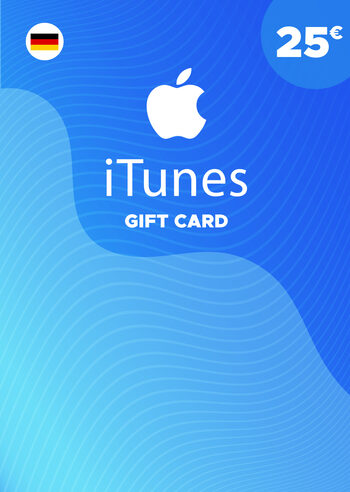 Apple iTunes Gift Card 25 EUR iTunes Key GERMANY