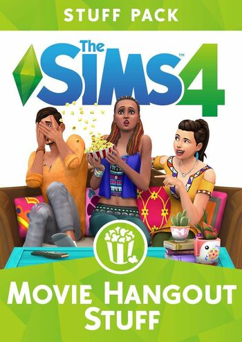 The Sims 4: Movie Hangout Stuff (DLC) Origin Key GLOBAL