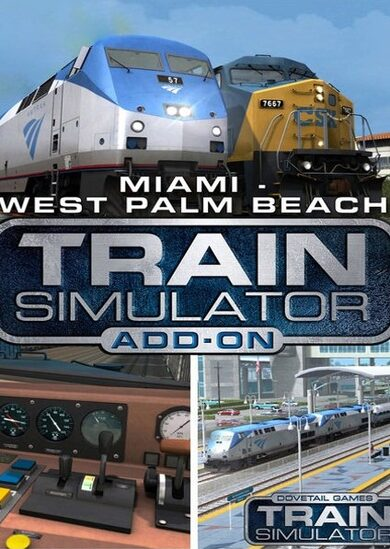 Train Simulator - Miami - West Palm Beach Route Add-On (DLC) Steam Key EUROPE