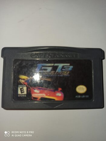 GT Advance 3: Pro Concept Racing Game Boy Advance