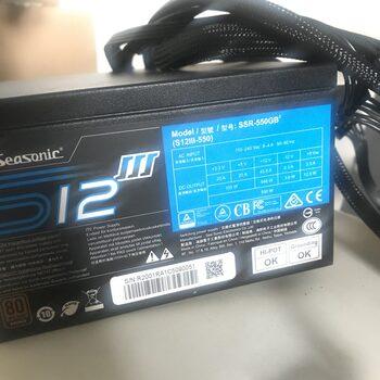 SeaSonic S12III ATX 550 W 80+ Bronze PSU