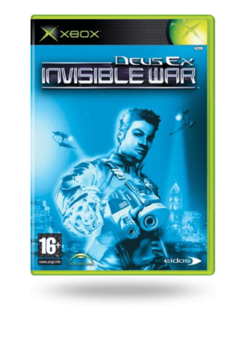 Deus Ex 2: Invisible War Xbox