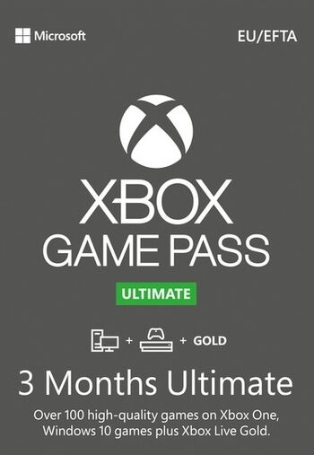 Xbox Game Pass Ultimate – 3 Month Subscription (Xbox One/ Windows 10) Xbox Live Key UNITED STATES