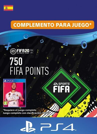 FIFA 20 - 750 FUT Points (PS4) PSN Clave España