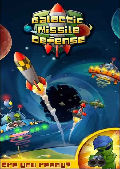 Galactic Missile Defense Steam Key GLOBAL
