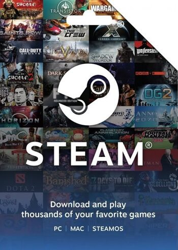 Steam Wallet Gift Card 100 HKD Steam Key HONG KONG