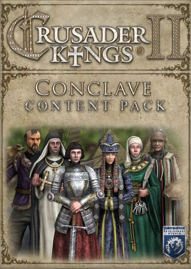 Crusader Kings II - Conclave Content Pack (DLC) Steam Key GLOBAL