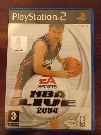 NBA Live 2004 PlayStation 2