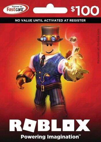 Roblox Card 100 USD - 10.000 Robux Key GLOBAL