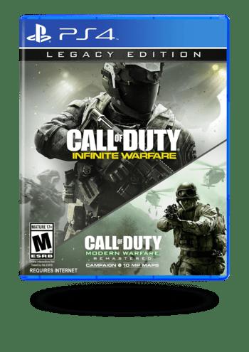 Call of Duty Modern Warfare Remasterd Legacy Edition PlayStation 4