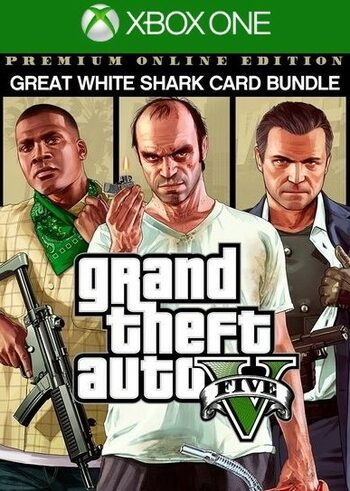 Grand Theft Auto V: Premium Online Edition & Great White Shark Card Bundle (Xbox One) Xbox Live Key UNITED STATES