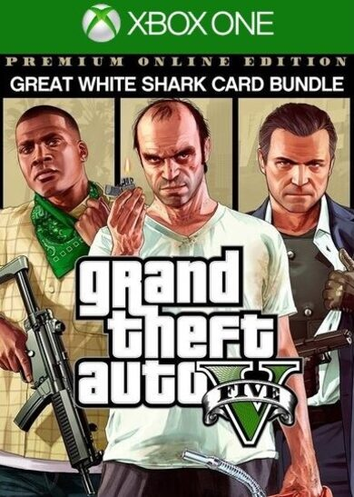 Grand Theft Auto V: Premium Online Edition & Great White Shark Card Bundle (Xbox One) Xbox Live Key UNITED STATES фото