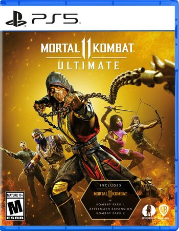 Mortal Kombat 11 Ultimate PS5 (PSN) Key EUROPE