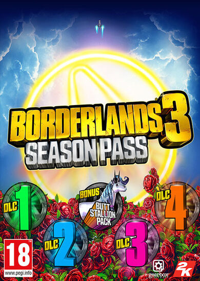 Borderlands 3 - Season Pass (DLC) Steam Key GLOBAL