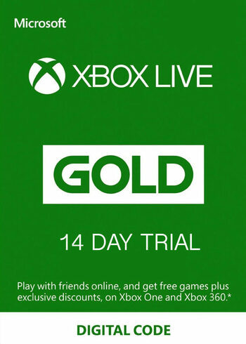 Xbox Live Gold 14 Days TRIAL Xbox Live Key UNITED STATES