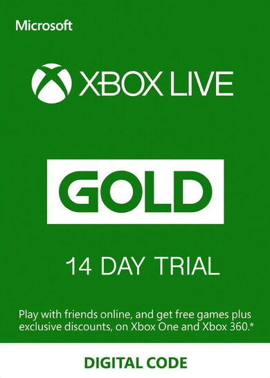 Xbox Live Gold 14 días TRIAL Xbox Live Clave GLOBAL