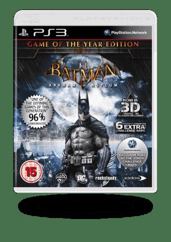 Batman: Arkham Asylum Game of the Year Edition PlayStation 3