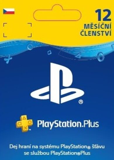 PlayStation Plus Card 365 Days (CZ) PSN Key CZECH REPUBLIC