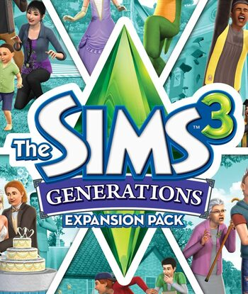 The Sims 3: Generations (DLC) Origin Key EUROPE