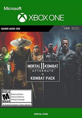 Mortal Kombat 11: Aftermath + Kombat Pack Bundle (DLC) (Xbox One) Xbox Live Key UNITED STATES