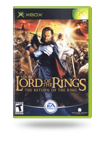 The Lord of the Rings: The Return of the King Xbox
