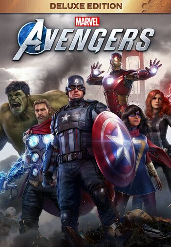Marvel's Avengers Deluxe Edition Steam Key EUROPE