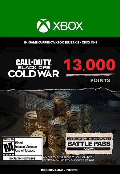 Activision / 13,000 Call of Duty: Black Ops Cold War Points XBOX LIVE Key GLOBAL