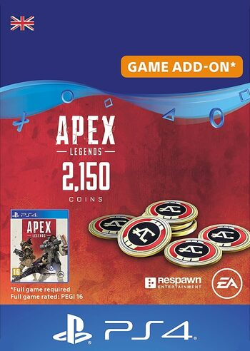 Apex Legends 2150 Apex Coins (PS4) (UK) PSN Key UNITED KINGDOM