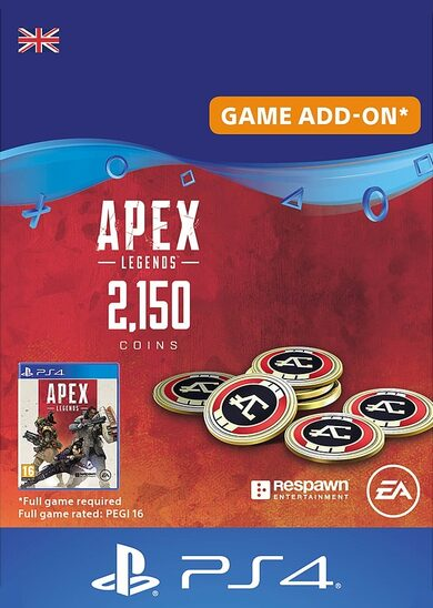 Apex Legends 2150 Apex Coins (PS4) PSN Key UNITED KINGDOM