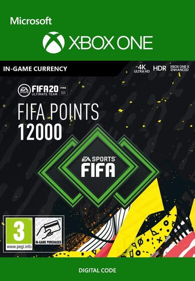 FIFA 20 - 12000 FUT Points (XBOX ONE) Xbox Live Key GLOBAL