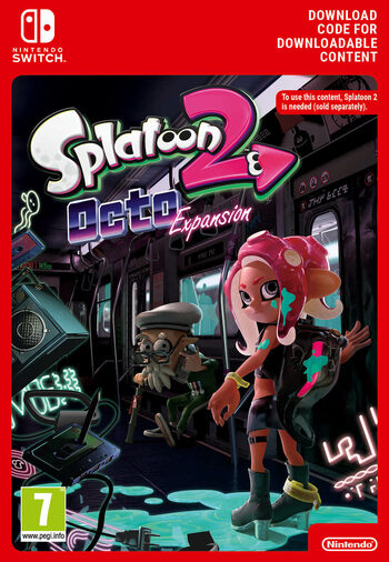 Splatoon 2: Octo Expansion (DLC) (Nintendo Switch) eShop Key EUROPE