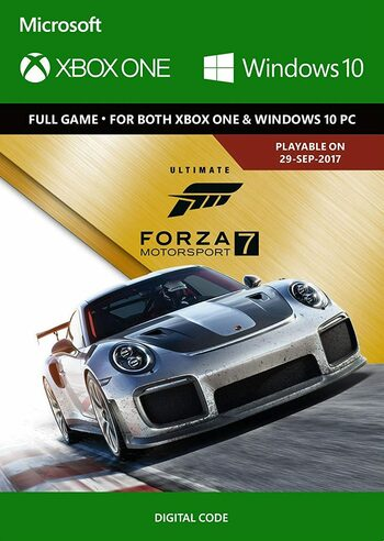 Forza Motorsport 7 - Ultimate Edition (PC/Xbox One) Xbox Live Key UNITED STATES