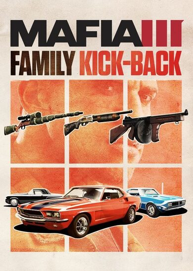 Mafia 3 - Family Kick Back Pack (DLC) Steam Key EUROPE