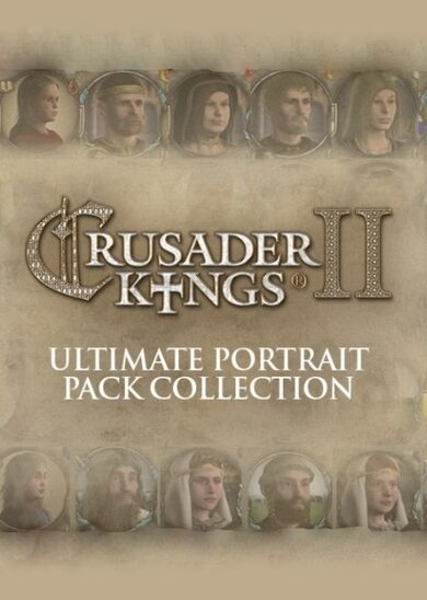Paradox Interactive / Crusader Kings II - Ultimate Portrait Pack Collection (DLC) Steam Key GLOBAL