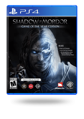 Middle-earth: Shadow of Mordor Game of the Year Edition PlayStation 4