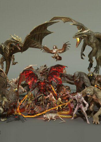 Heroic Fantasy Creatures Full Pack Volume 1 Key GLOBAL