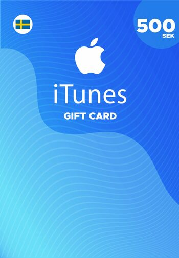 Apple iTunes Gift Card 500 SEK iTunes Key SWEDEN