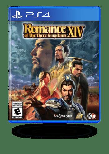 ROMANCE OF THE THREE KINGDOMS XIV with Bonus PlayStation 4