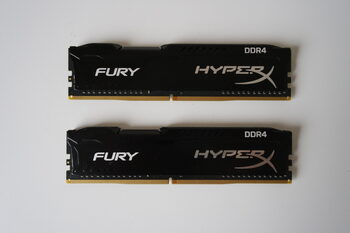 Kingston Furry HyperX DDR4 8GB (2x4GB) 2400 Mhz