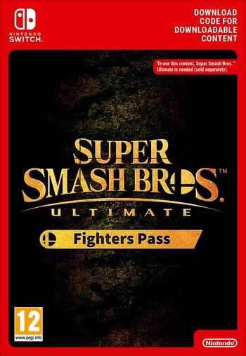 Super Smash Bros. Ultimate Fighters Pass (DLC) (Nintendo Switch) eShop Key EUROPE