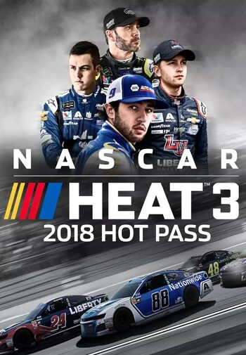 NASCAR Heat 3 - 2018 Hot Pass (DLC) Steam Key GLOBAL