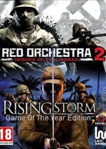 Rising Storm Game of the Year Edition + Red Orchestra 2 Steam Key GLOBAL