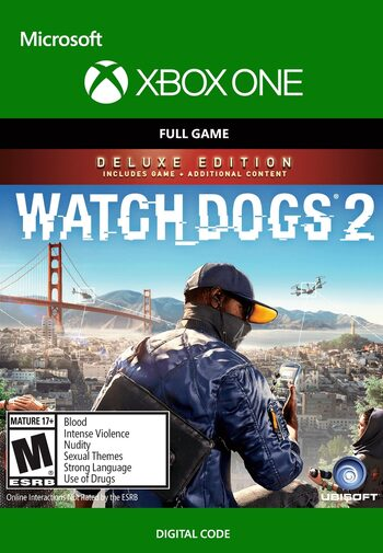 Watch Dogs 2 - Deluxe Edition (Xbox One) Xbox Live Key GLOBAL