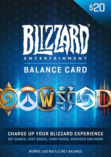 Battle.net Gift Card 20 USD Battle.net Key NORTH AMERICA фото