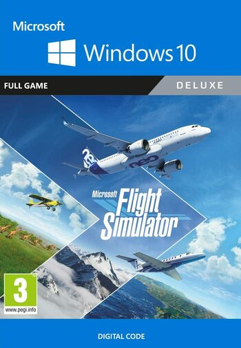 Microsoft Flight Simulator: Deluxe Edition - Windows 10 Store Key GLOBAL